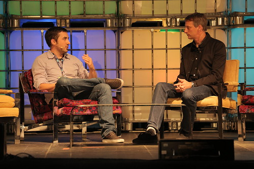 Kevin Rose and Tony Hawk