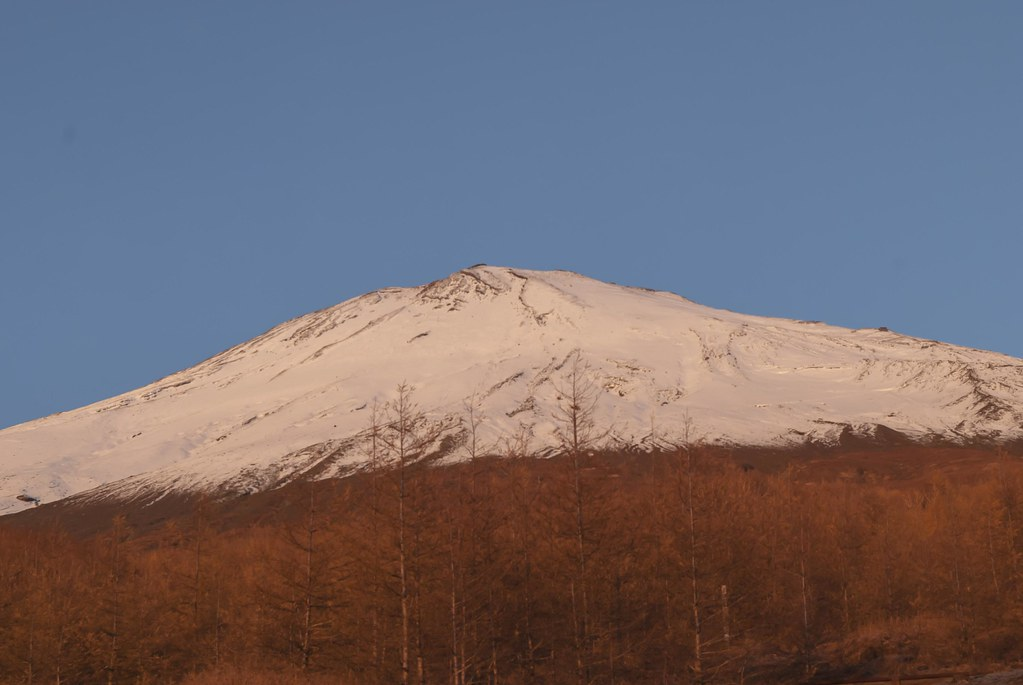 2013.11.08 須走五合目からの赤富士
