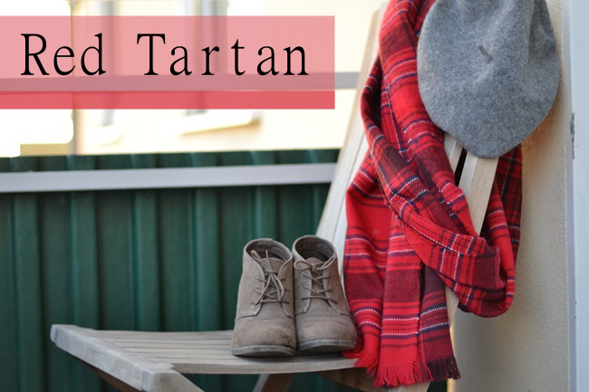 Outfit Schal H&M Tartan (1) Banner