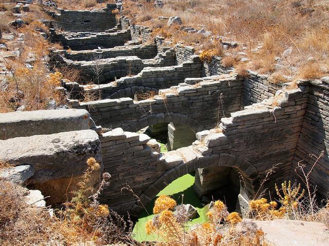 Delos cistern