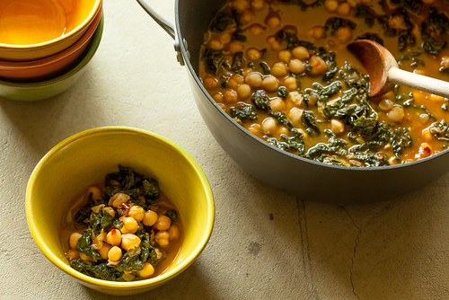 Kale Chickpea Stew