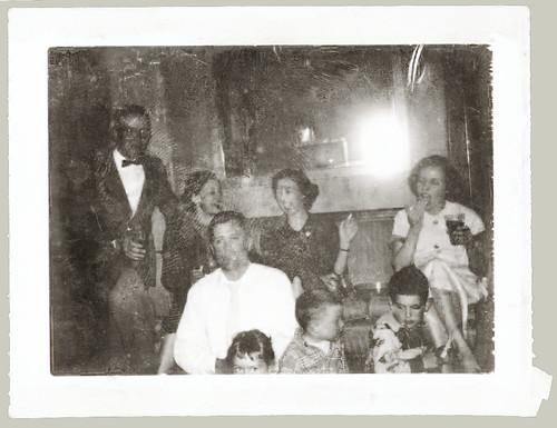 Old Polaroid Swinger print