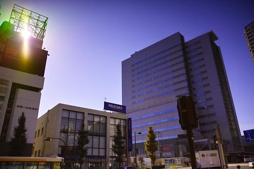 光とFOVEON BLUE by leicadaisuki