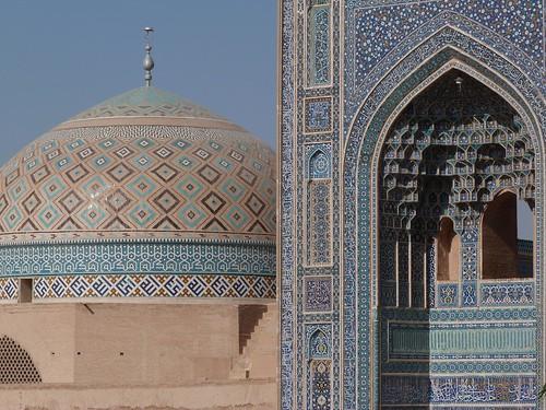 Mezquita del viernes de Yazd (Irán)