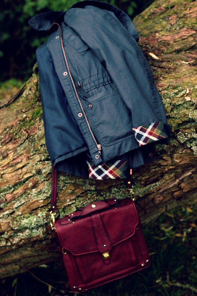 Barbour Style Jacket Mischa Barton Bag
