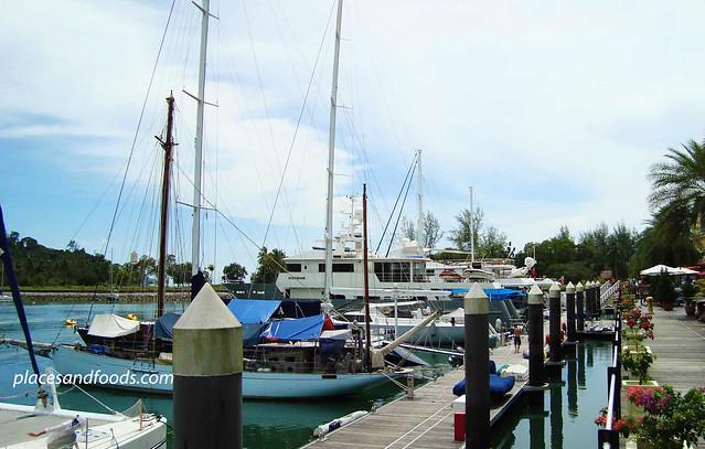 telaga harbour front