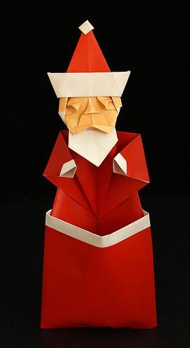 Origami Santa Claus (Toyoaki Kawai)