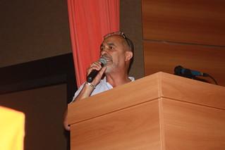 Jorge Carlos Morais, o Arakém, secretário-geral do Sindicato dos Metalúrgicos de São Paulo e Região