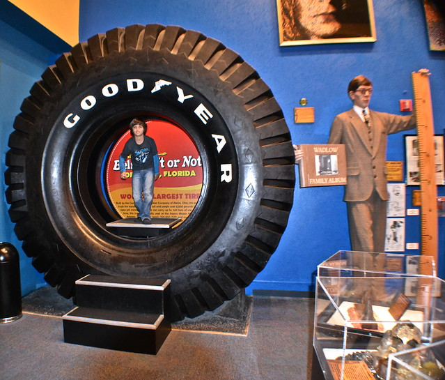 Ripley's Believe It or Not Orlando - largest tire in the world