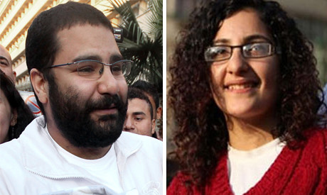 Egyptian activists Alaa Abdel-Fattah and Mona Seif have been given a one year suspended sentence. They were arrested for participating in an unauthorized demonstration. by Pan-African News Wire File Photos