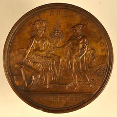 Diplomatic Medal reverse