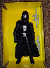 Darth Vader knockoff Star Wars doll figure full view