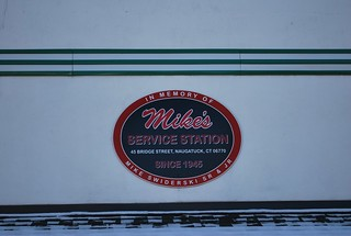 Mike's Service Station, Naugatuck, CT