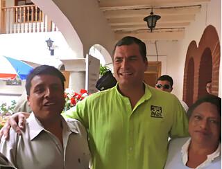 correas visit cotacachi