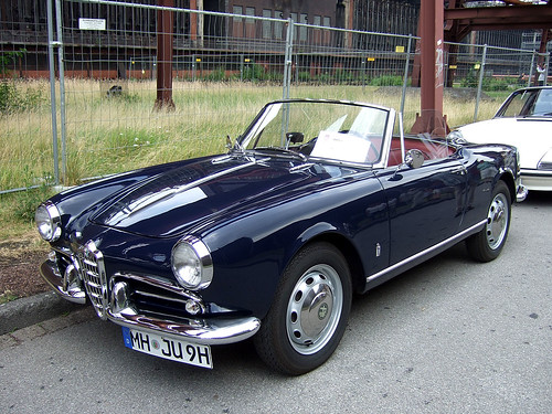 Alfa Romeo Giulietta Spider (2nd series - 1959–62)
