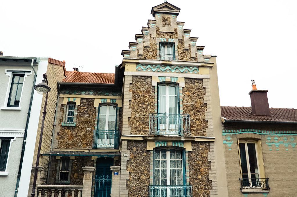 Maison rue du Moulin des Prés