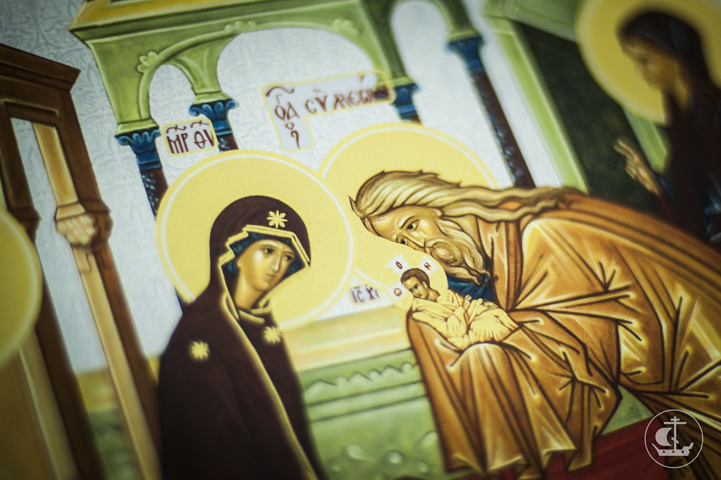 14 февраля 2014, Всенощное бдение накануне Сретения Господня / 14 February 2014, Vigil on the eve of The Meeting of Our Lord