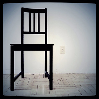 103 - Agnes' Black Chair (R.I.P.)