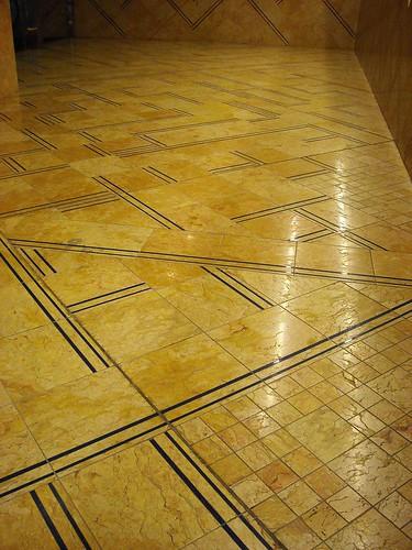 "Floor - ""Toledo"" Station of Underground in Naples - Architect Oscar Tusquets (Barcelona 1941); painter William Kentridge (Johannesburg 1955)"