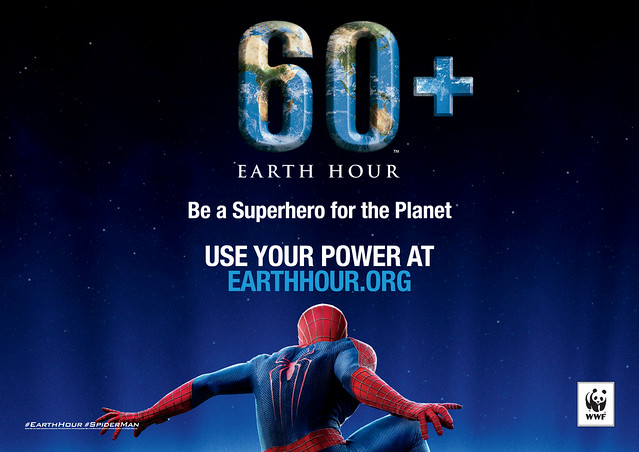 Andrew Garfield & Emma Stone Join Super Hero Projects For Earth Hour