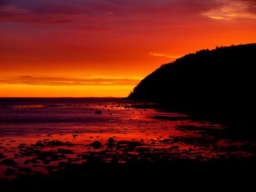 sunrise scotland highlands tide cromarty sutor gloaming