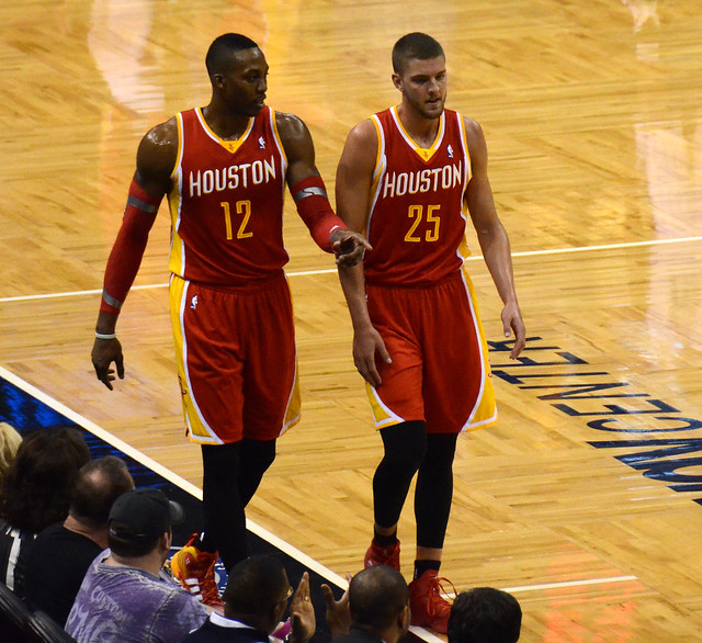 Dwight Howard And Chandler Parsons