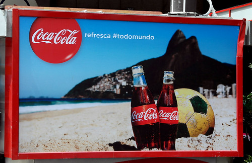 FIFA WOLRD CUP 2014 THIRD SERIES COCA-COLA BACKLITS RIO DE JANIEIRO 2 by roitberg