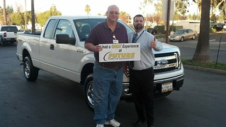 Thank you to Brett Robinson of Camino, CA for getting his 2013 Ford F-150 from Daniel Tellez.