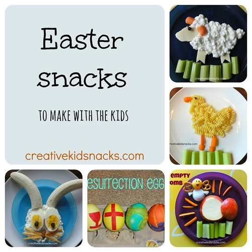 Easter Snacks to Make with the Kids