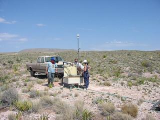 Installation of Primary Seismic Station PS46 Lajitas, USA