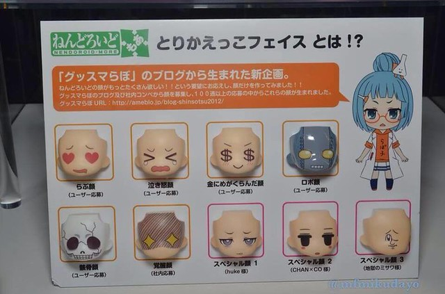 Nendoroid More: Faceplate