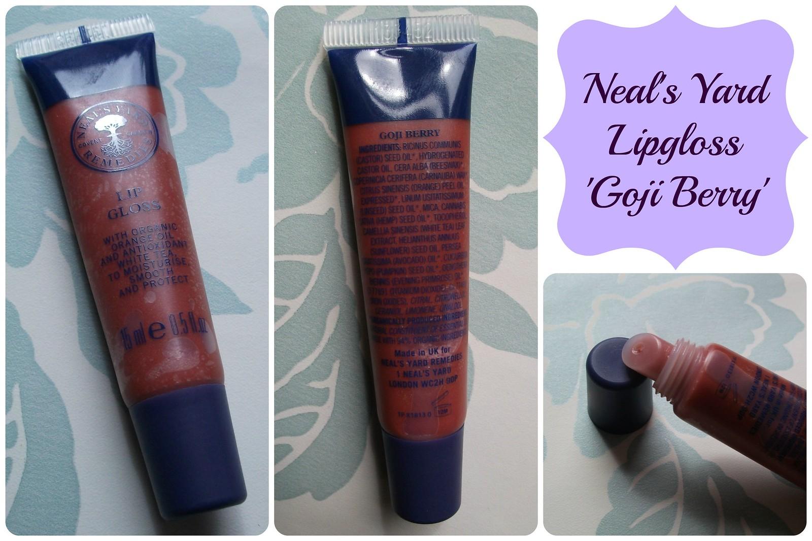 Neal's Yard Lipgloss Goji Berry