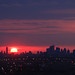 Good Friday Rises over Toronto Skyline Apr18/14 EXPLORED #56 by Dan Armishaw
