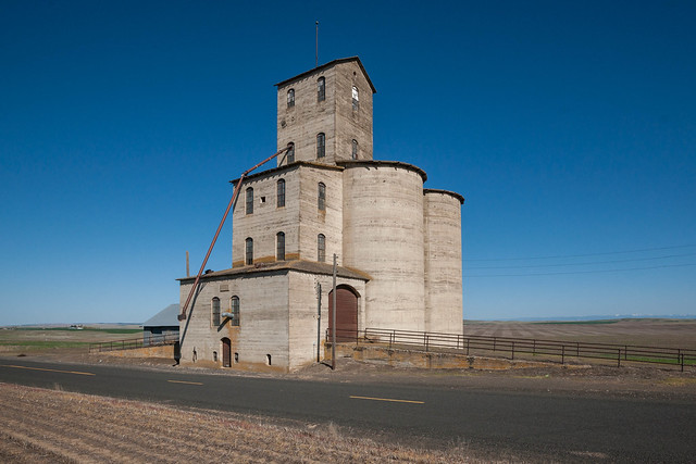 Is it a castle? No, it's a grain elevator.