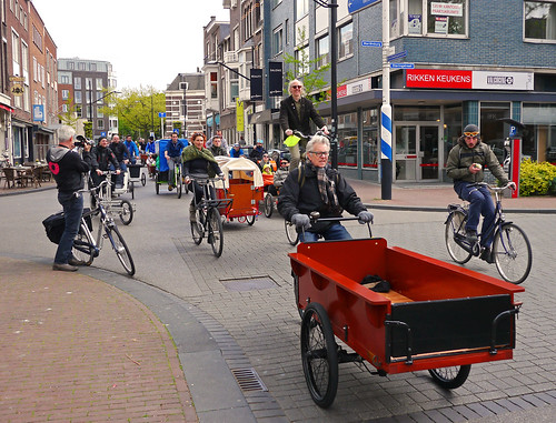 Cargo bike festival 570 Bakfiets demonstration
