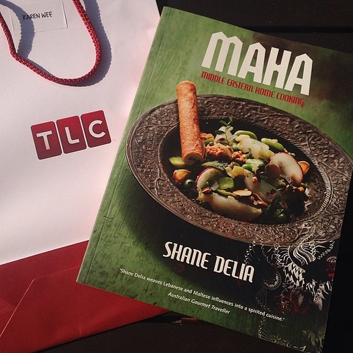 Thank you, TLC (Starhub Ch 427)! I'm looking forward to trying out Shane Delia's #Hummus recipe from his MAHA #cookbook. Catch Shane Delia's Spice Journey at 7 PM on Tuesdays. I'm a bit of an Arabophile & hope to visit the region again soon. Insha'llah!