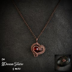 Fire in the Heart Pendant