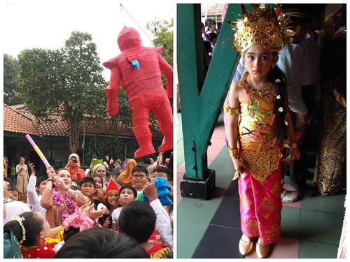 Día del Niño en la escuela primaria República de México en Yakarta