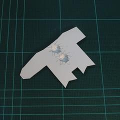วิธีทำโมเดลกระดาษตุ้กตาคุกกี้รัน คุกกี้ผู้กล้าหาญ แบบที่ 2 (LINE Cookie Run Brave Cookie Papercraft Model Version 2) 004