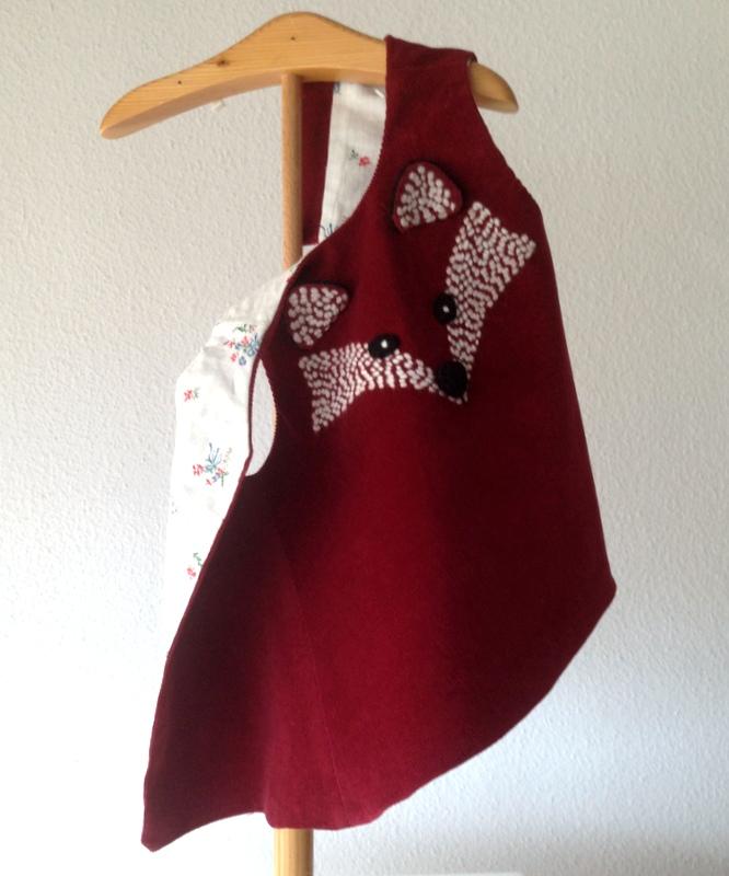 fox baby dress