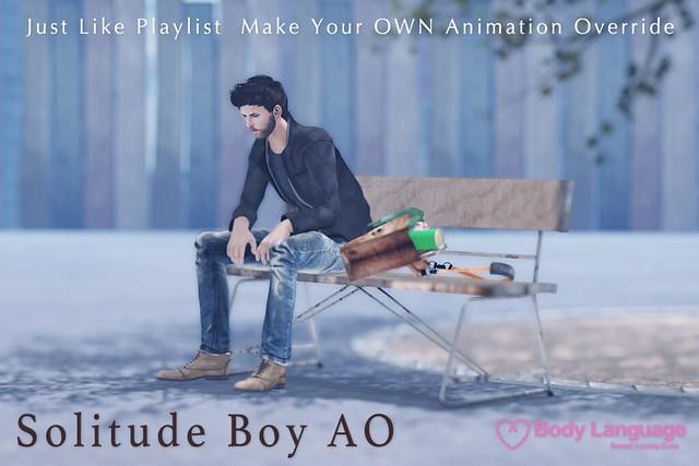 Solitude Boy AO  @ The Mens Dept