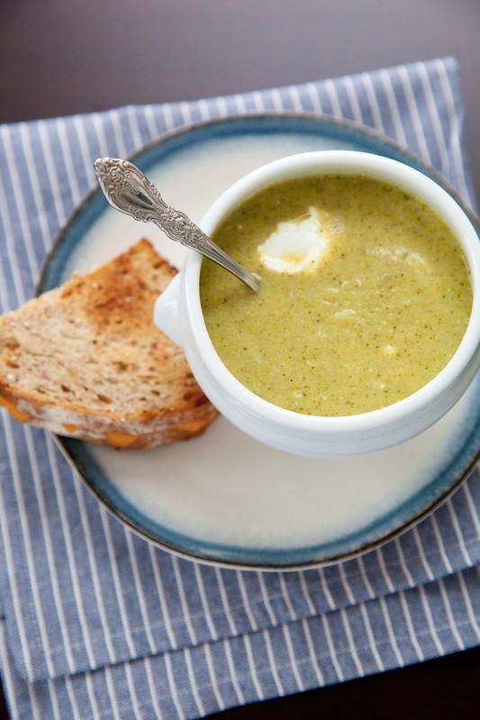 Creamy Broccoli Soup | Annie's Eats