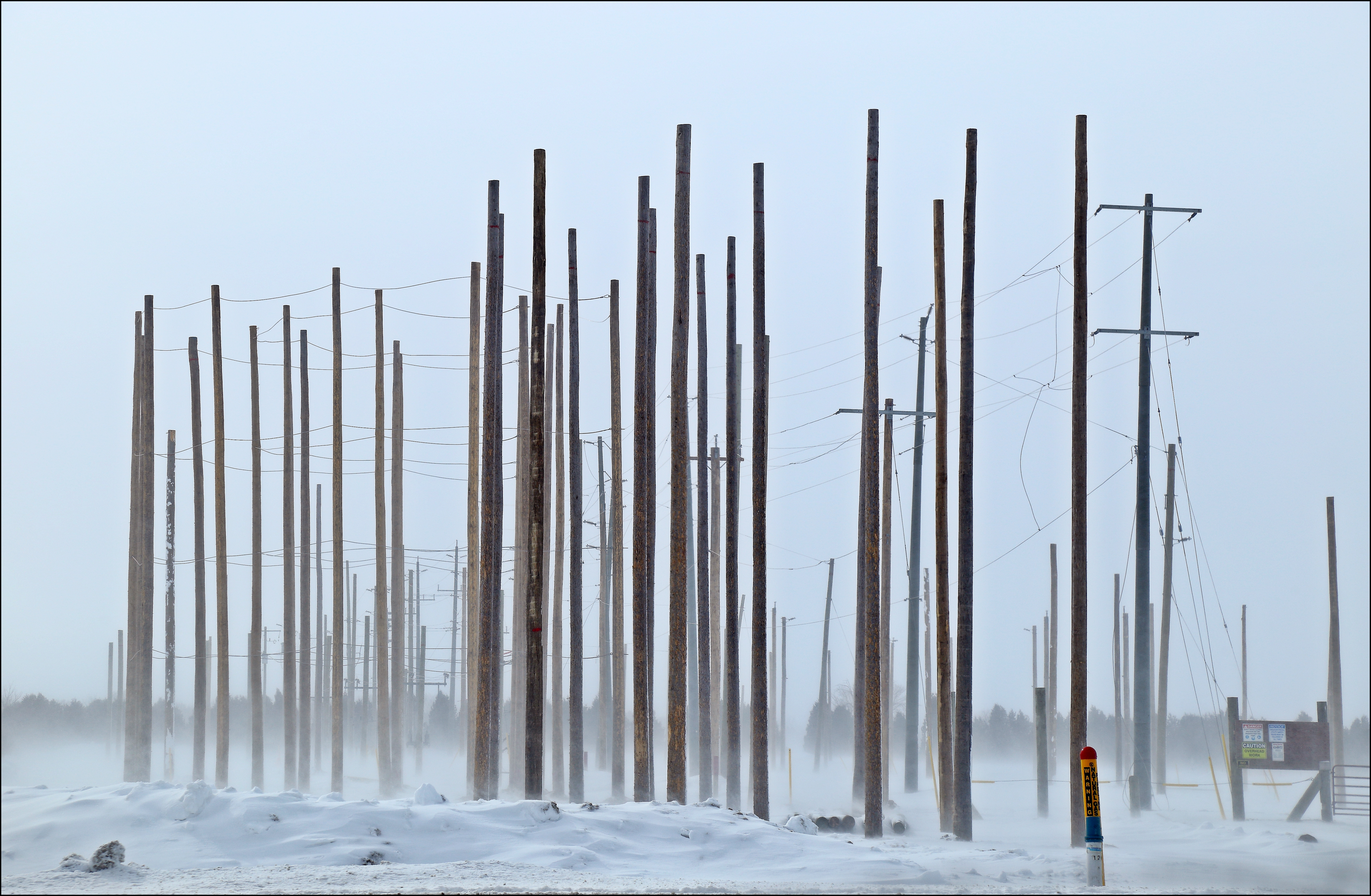Cold & Windy. canon, hydro, poles, practice, 6d, takenoutthewindow. buy photo