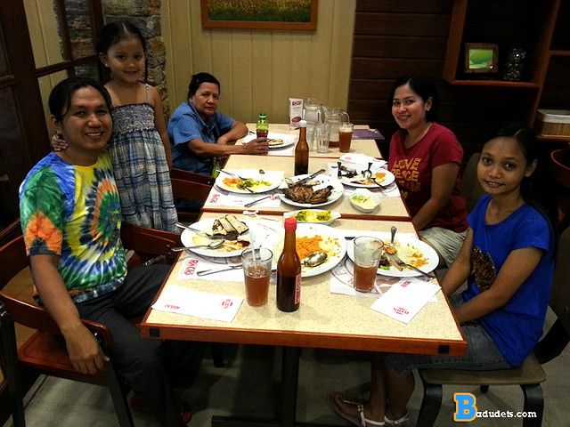 V-day lunch at RACKS Timog branch
