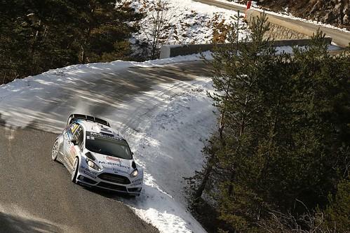 O. Tänak / R. Mõlder WRC Montecarlo 2015