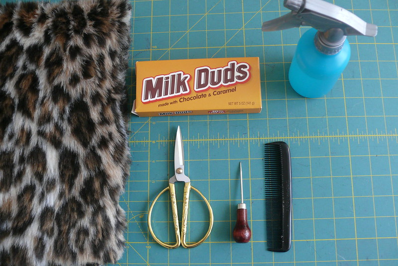 sewing with faux fur | Ginger Makes