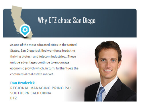 Why DTZ chose San Diego Completed
