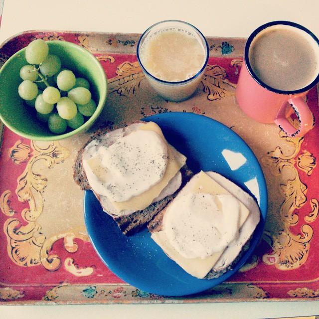 Bonjour!  #desayuno #breakfast