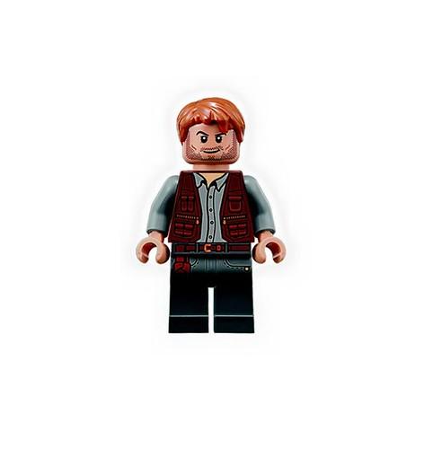 LEGO Jurassic Park Owen Minifigure
