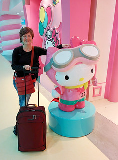 traveling with Hello Kitty